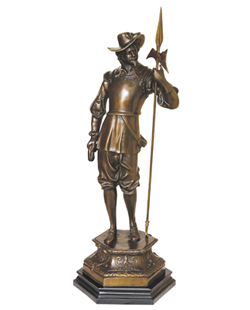 Bronze Soldier Sculpture-SF001