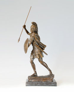 Bronze Soldier Sculpture-ST005