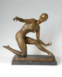 Bronze Sports Sculpture-ST002
