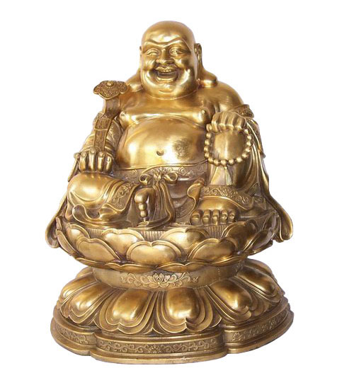 Bronze Buddha Sculpture-UY005