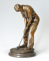 Bronze Sports Sculpture-ST001