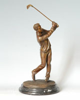 Bronze Sports Sculpture-ST003