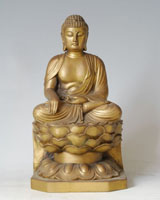 Bronze Buddha Sculpture-UT001