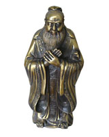 Bronze Chinese Figure statue -CH001