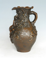 Bronze Vase Sculpture-VT004