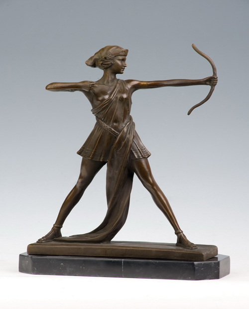 Bronze shooter statue HYF-1003