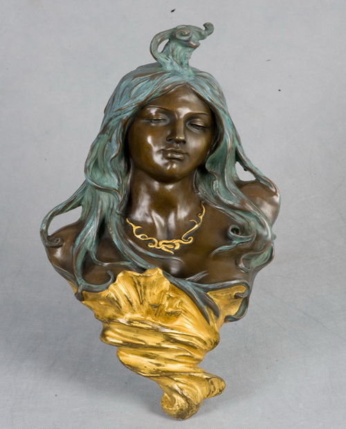 Bronze beauty head HYF-1051B