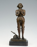 Bronze soldier sculpture HYF-1004