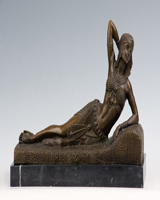 Bronze dancer statue HYF-1020