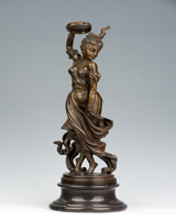 Bronze dancer girl HYF-1045